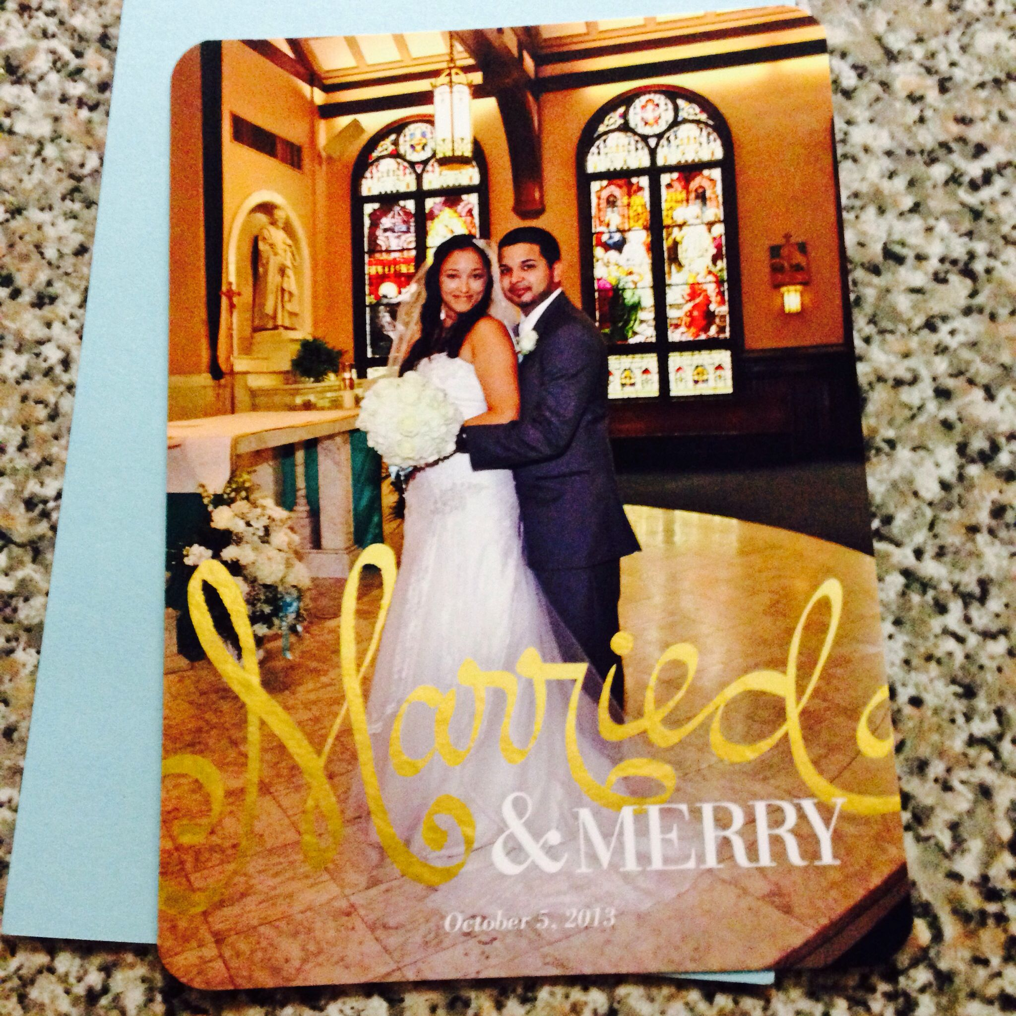 Christmas card from shutterfly   My vintage style wedding ...