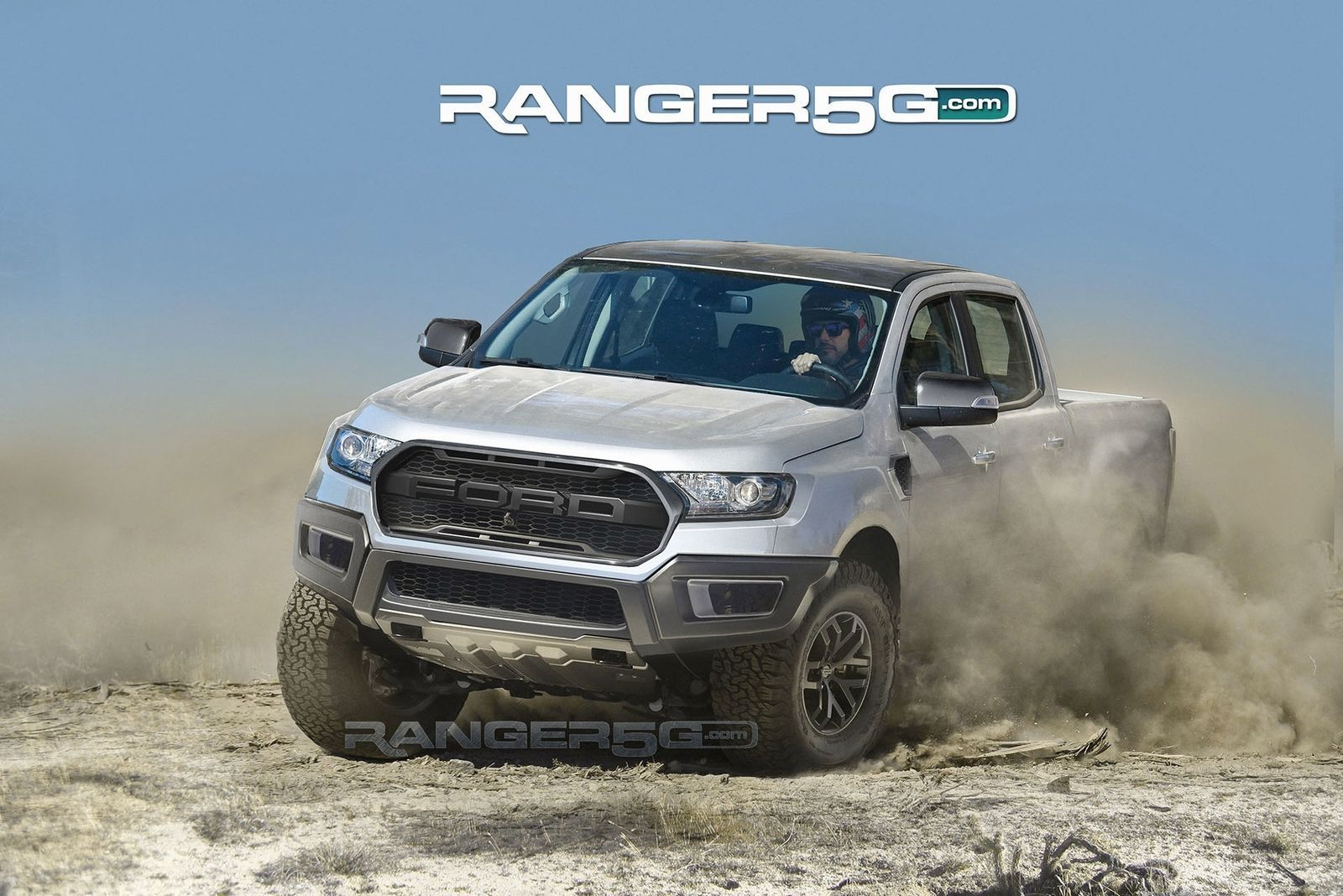 Here S The Best Guess Yet At What The Ford Ranger Raptor Will Look Like Ford Ranger Camionetas Ford Guarda Bosque