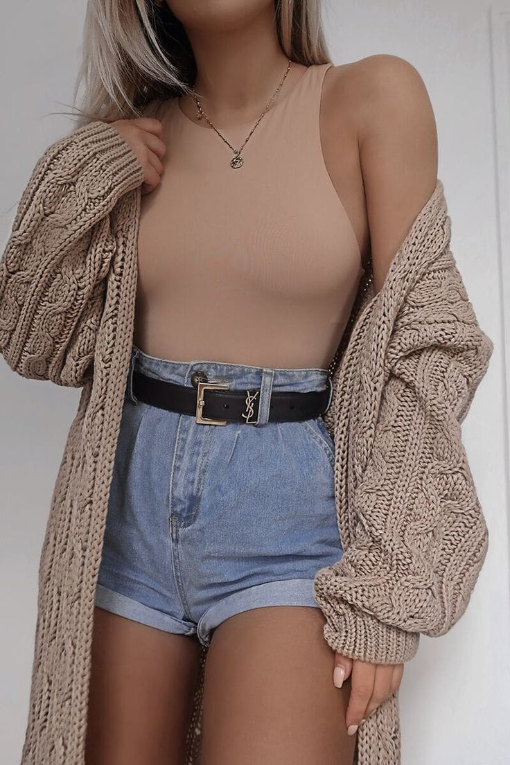 Photo of FASHION INFLUX STONE CABLE KNITTED MIDAXI CARDIGAN