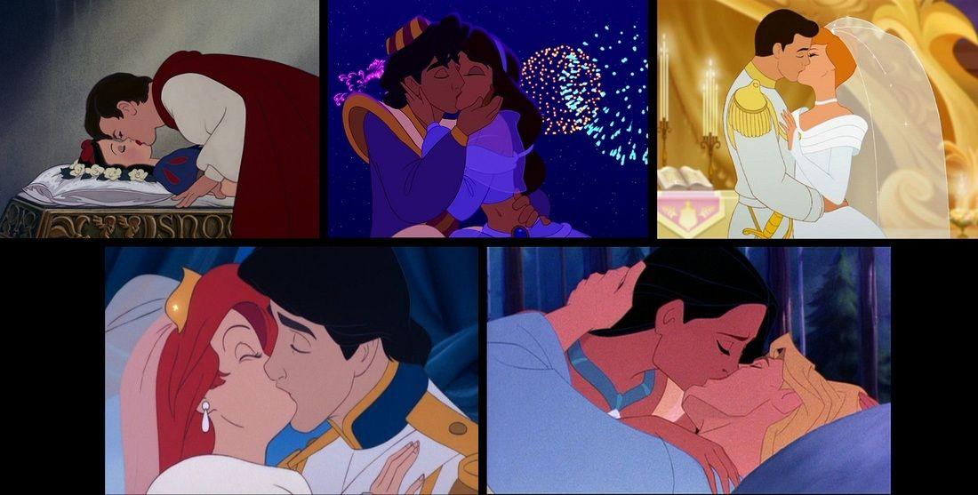 Kissing Cinderella Charming Prince And 12