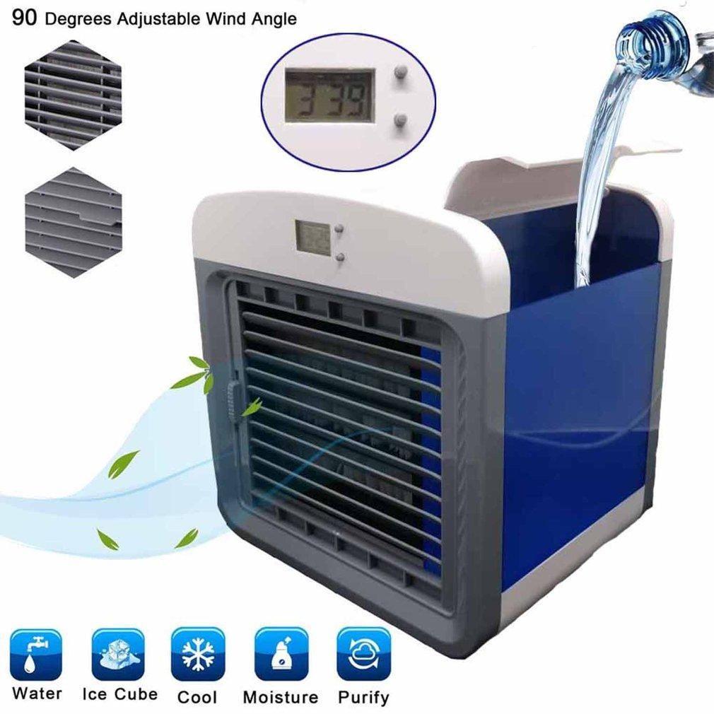 Artic Air Cooler Mini Small Air Conditioning Appliances Mini Arctic Portable Air Conditioner Fans Nyamuk Lampu