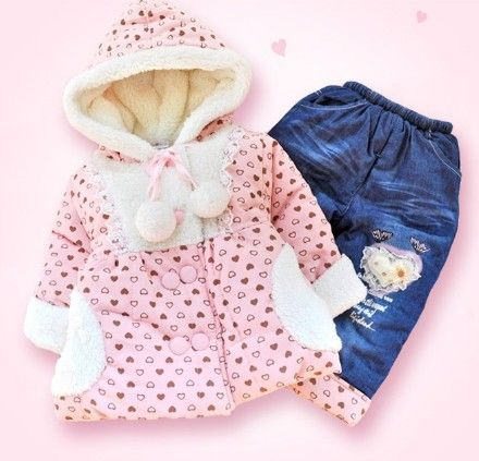 Clearance New 2015 Winter Baby Girl High Quality Thicken ...