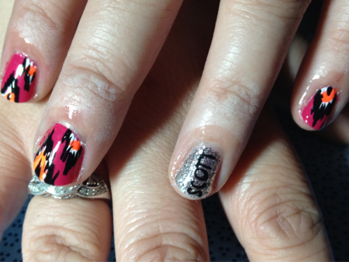 Anniversary nails!  Nails Y'all in Austin, TX. Get fancy!  nailsyall@gmail.com  7817 Rockwood Ln., Suite #310 ATX 78757
