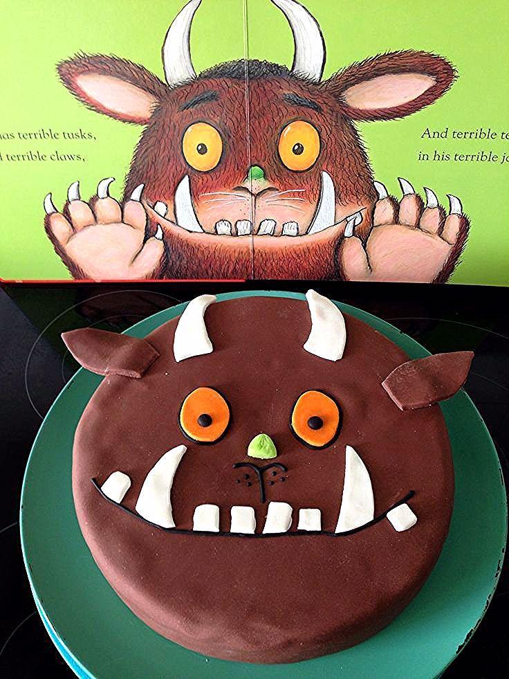 Gruffalo Cake Essen Und Trinken Cupcakes Gruffalo Party Cake Cupcakes Essen Gruf Gruffalo Party Birthday Party Cups Childrens Birthday Cakes