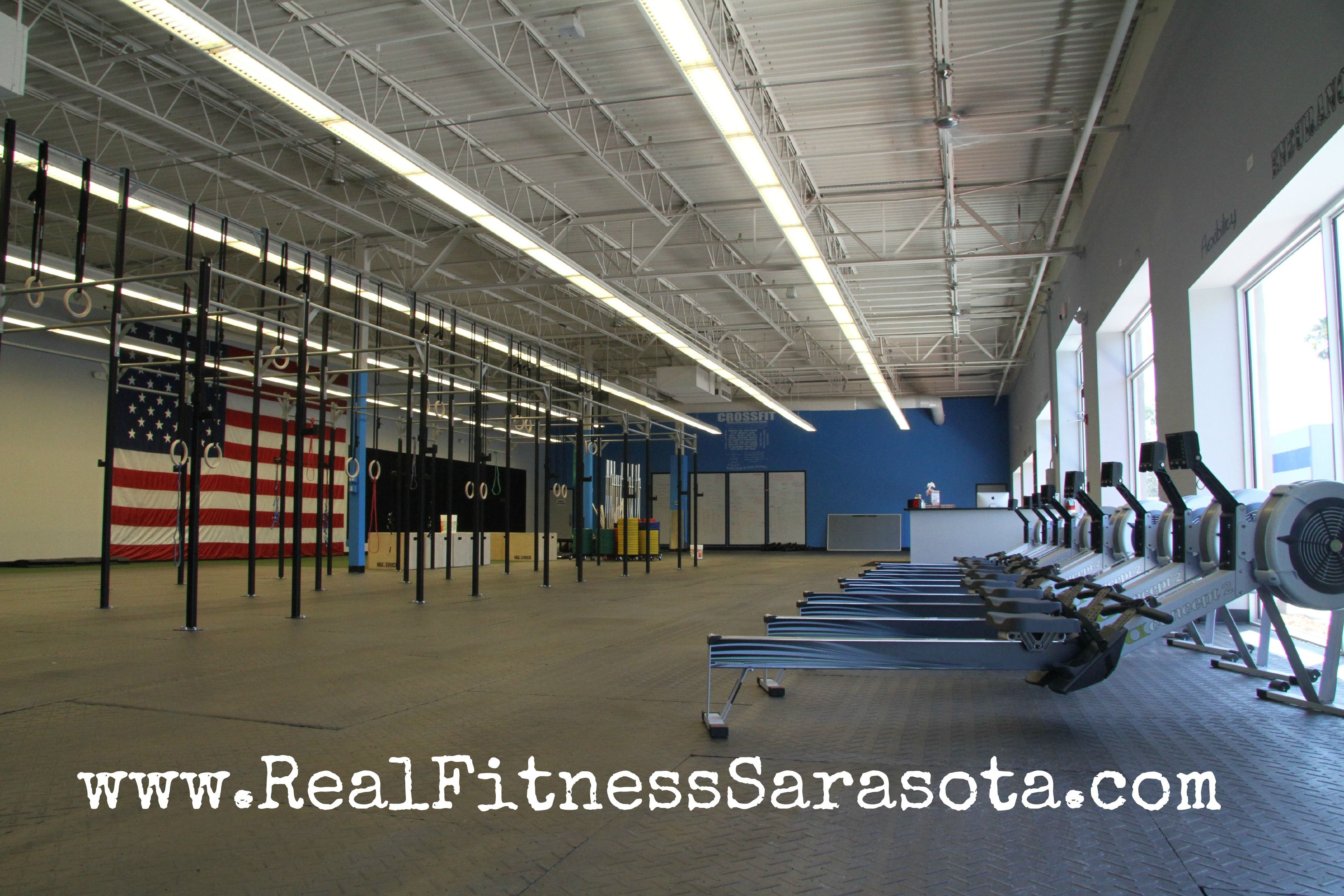 Real Fitness Sarasota Crossfit Gym The Amazing Crossfit Box My Family Opened In Sarasota Go Visit If You Ar Crossfit Gym Crossfit Inspiration Crossfit Box
