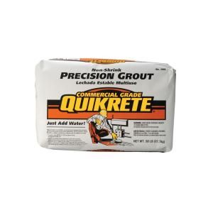 Quikrete 50 Lb Non Shrink Precision Grout 158500 At The Home
