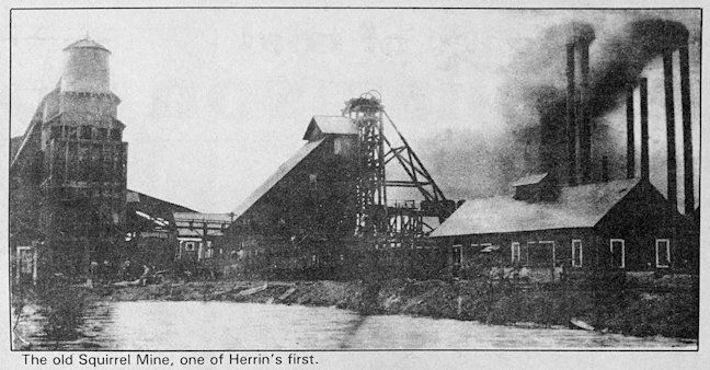 One of Herrin's first mines
