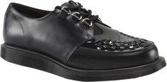Click Image Above To Buy: Dr. Martens Ramsey Creeper (men's) - Black Smooth/patent Lamper