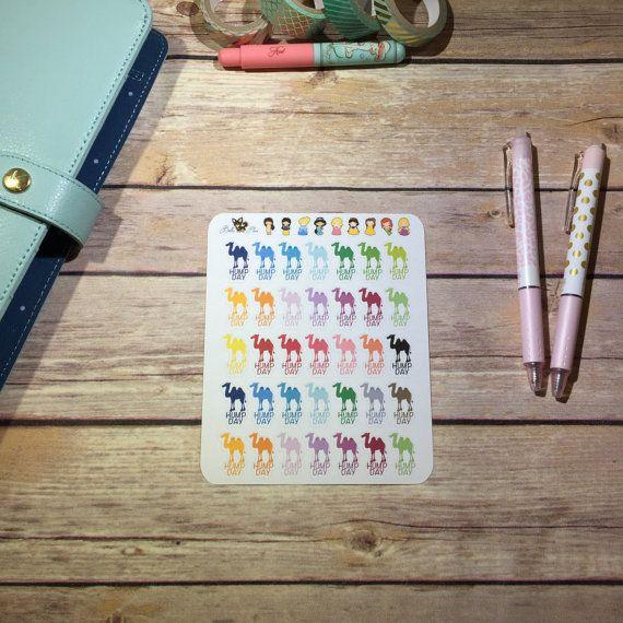 Gelukkig bult dag kameel Planner Stickers van BellaPlans op Etsy