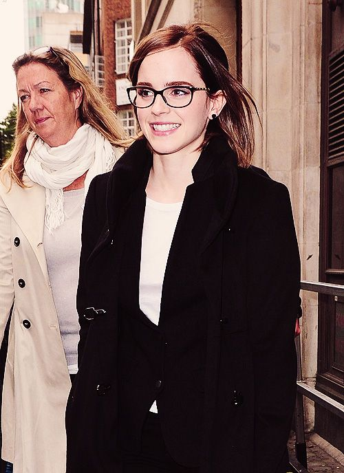chanel 3281 black. i love emma watson\u0027s glasses - like the nerd everyone things are trendy but much more delicate. in brown, rather than black. style: chanel chain 3281 black