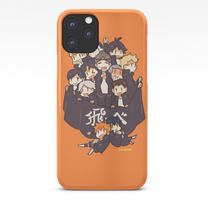 Haikyuu!! Karasuno Team Iphone Case by Kim Quim - iPhone 11 Pro - Slim Case