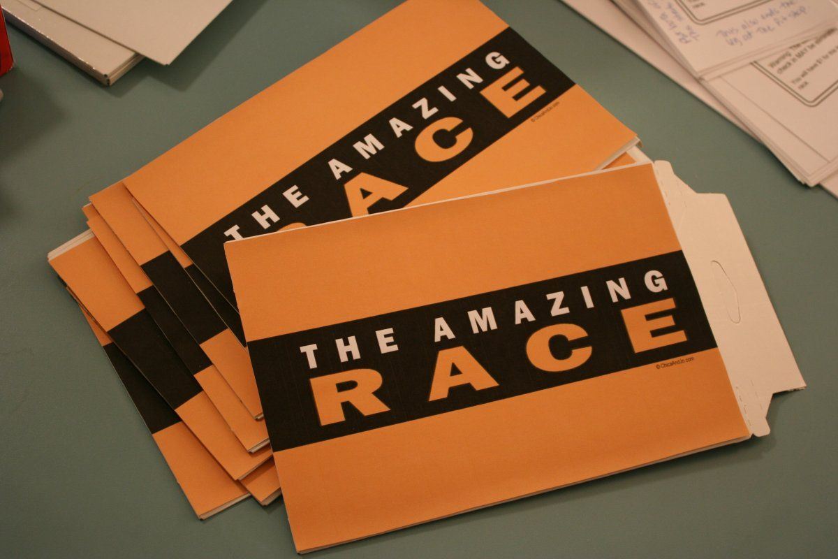 Amazing race ideas - Could Be A Fun Birthday Party Or Family Reunion Idea With The Amazing Race Game
