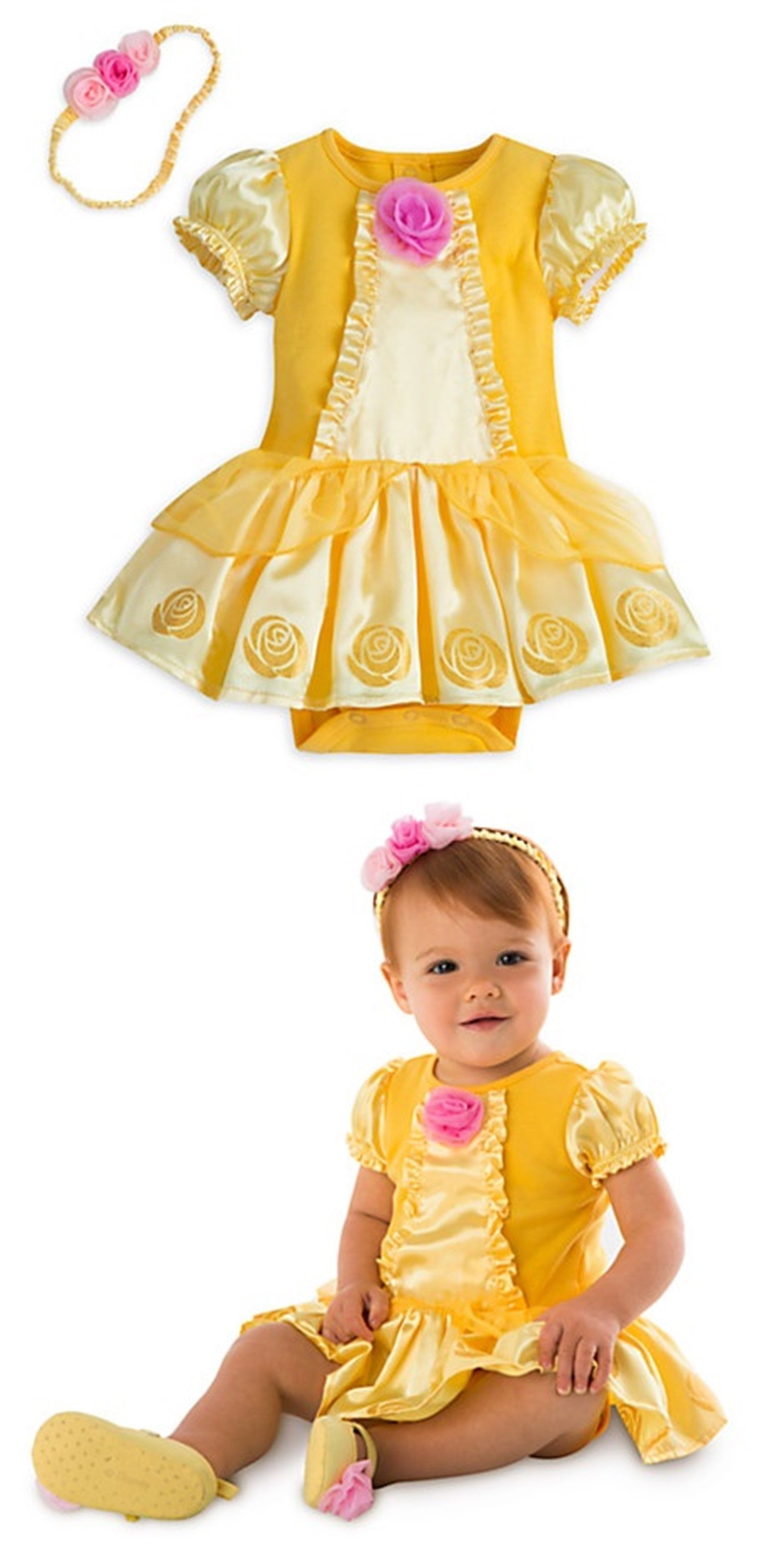 Infants and Toddlers Disney Store Belle Princess Dress Up