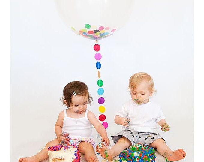 Hot Air Balloon Birthday Decor- Air Balloon Baby Shower Decorations- Pastel Hot Air Balloon Decorations - Hot Air Balloon Birthday decor #ohtheplacesillgo