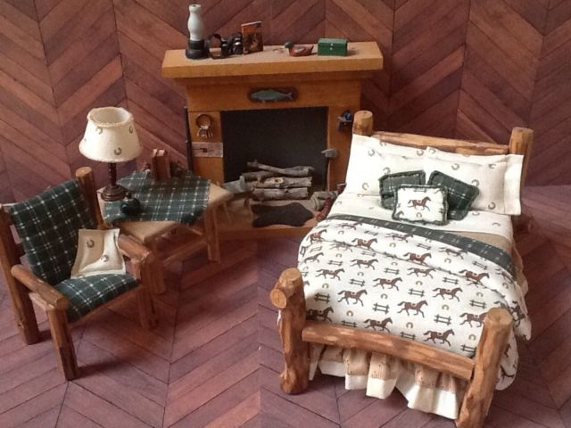 Rustic Doll House Furniture