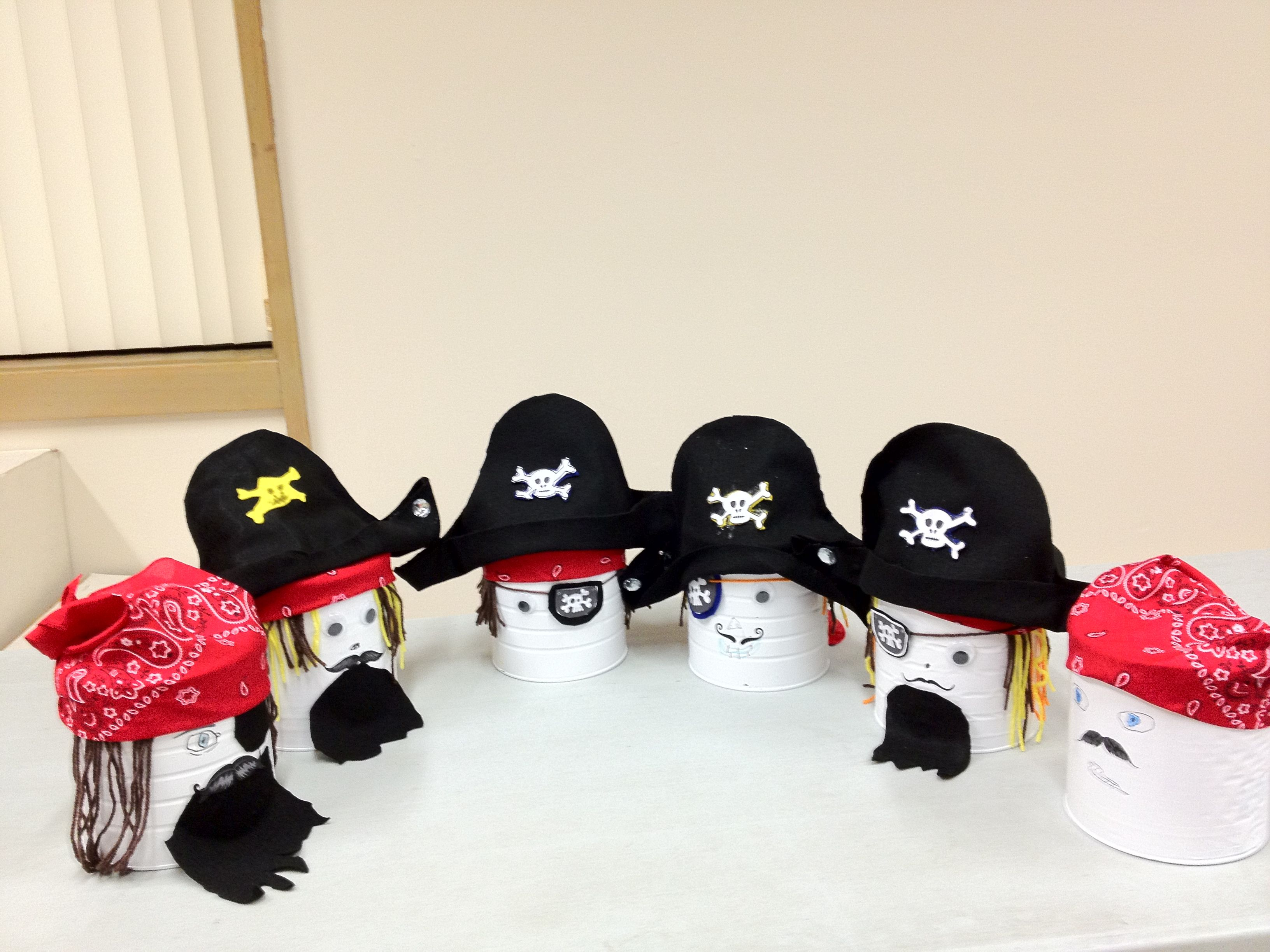 Pin On Pirate Bucket Heads