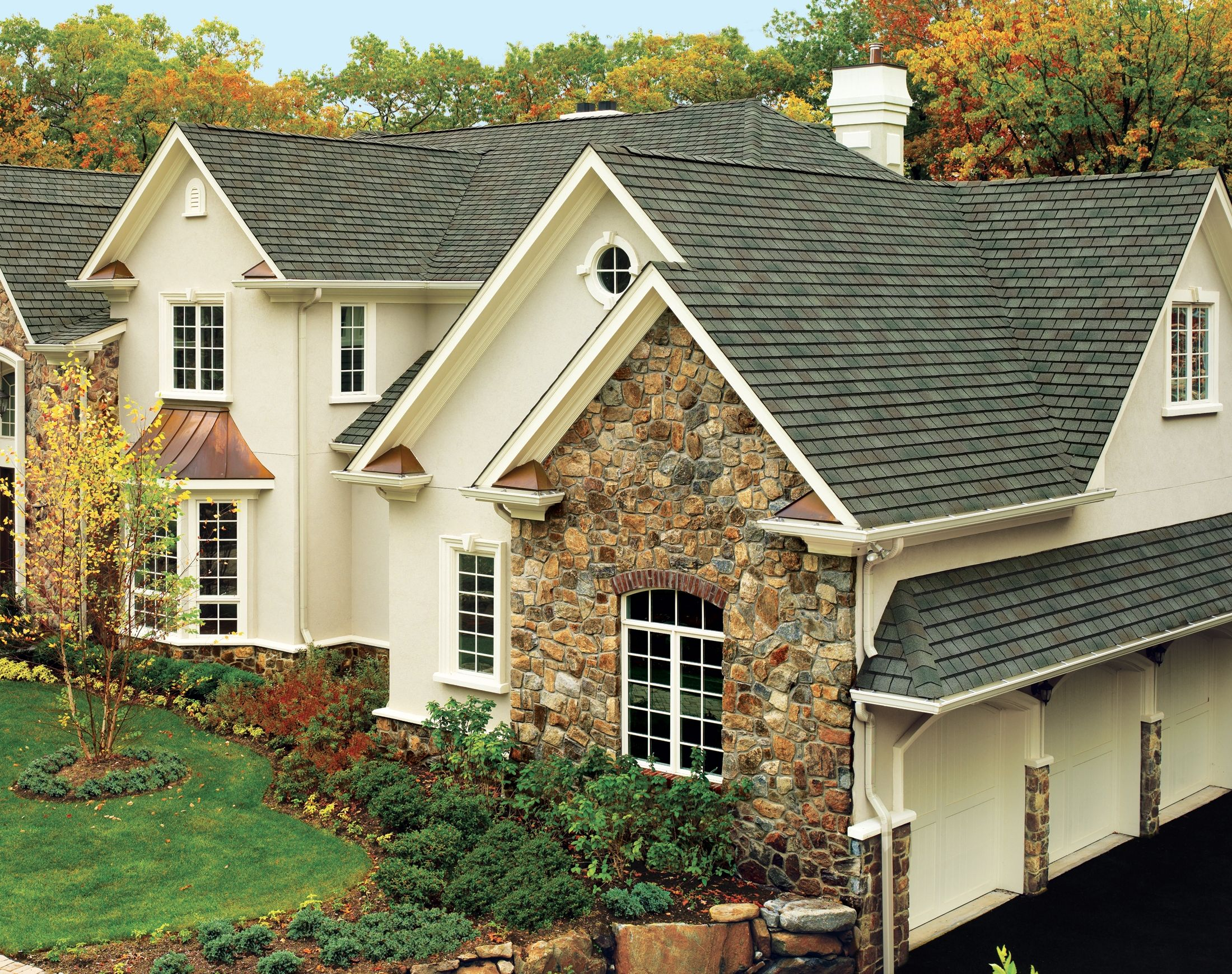 Best Tri State Windows Siding Roofing Gaf Roof Slateline 400 x 300