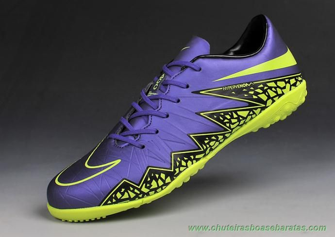 Nike Soccer Men Grape/Black/ Model:420