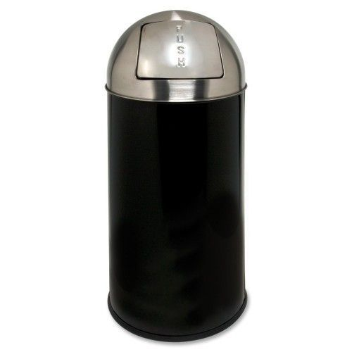 12-Gal Classic Round Top Receptacle