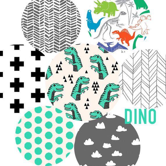 Dinosaur Nursery Bedding Set Fitted Crib Sheet Organic