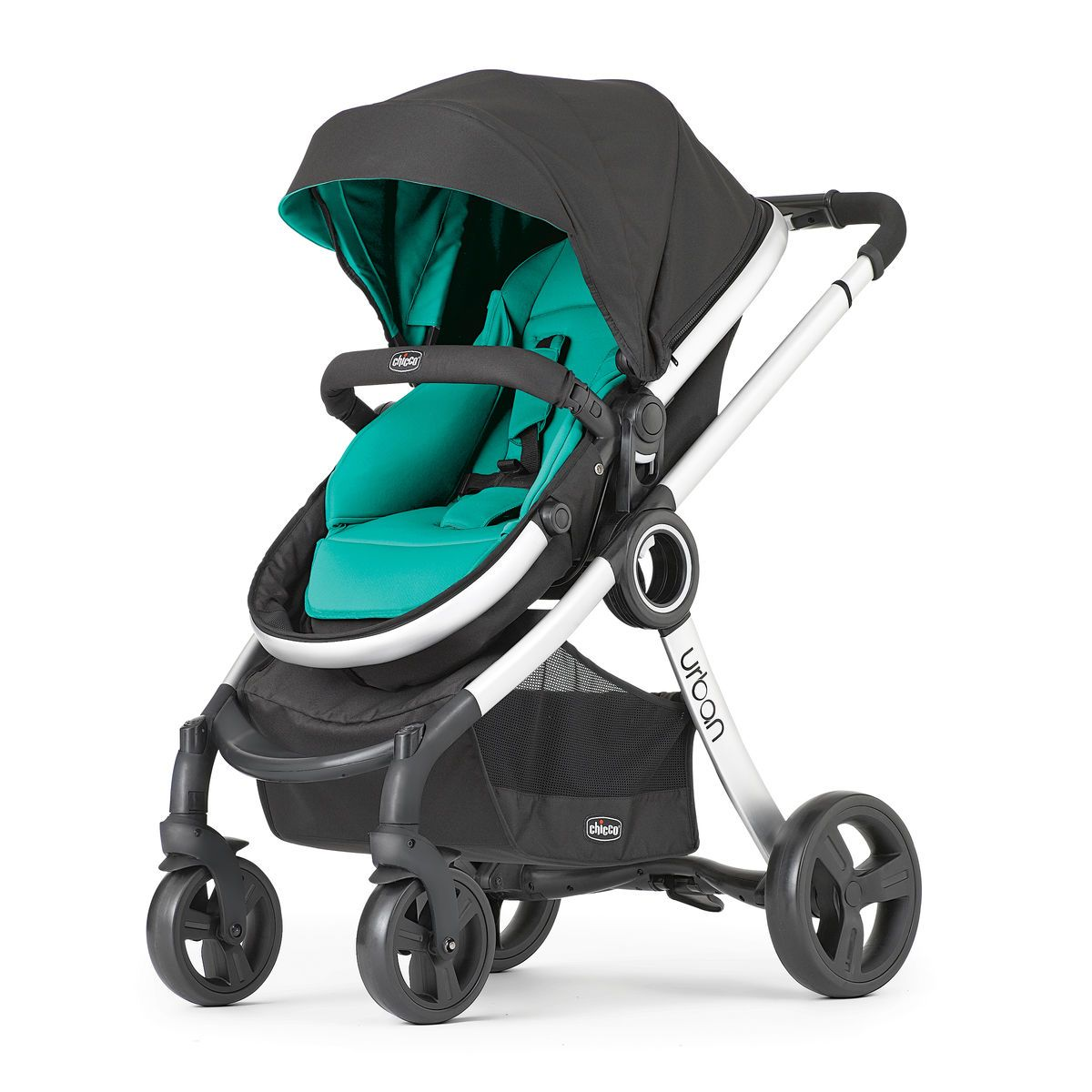 Chicco Kinderwagen 3 In 1 Chicco Chicco Urban 6 In 1 Modular Stroller Emerald