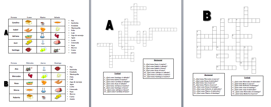 Interactive crossword puzzle to practice foreign language vocabulary interactive crossword puzzle to practice foreign language vocabulary ccuart Image collections