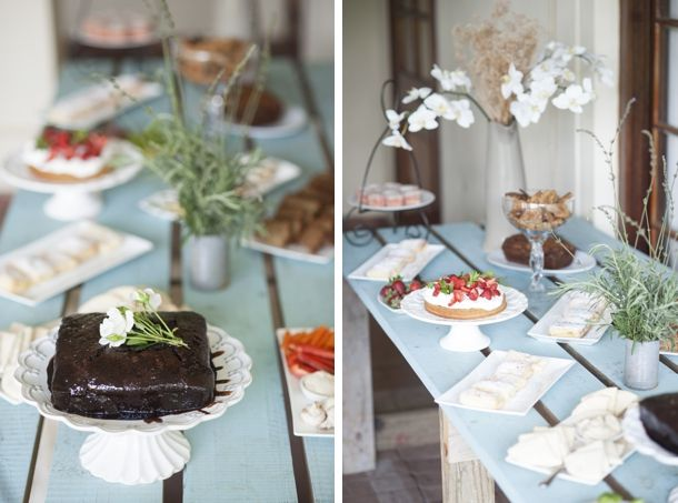 downton abbey inspired bridal shower