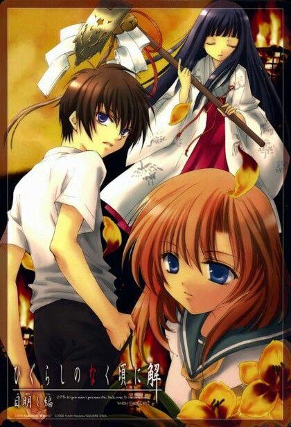 Keiichi Rika Y Rena Koro When They Cry Anime Websites