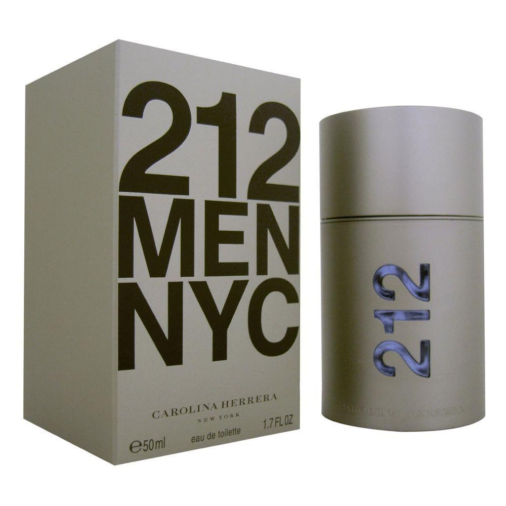 83b9493c11 212 MEN Cologne by Carolina Herrera 1.7 oz edt Eau de Toilette Spray NIB  SEALED #CarolinaHerrera