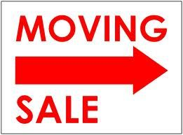 Have a sale and get rid of anything that can help you get some money for  those things you don't need or don't want to move.