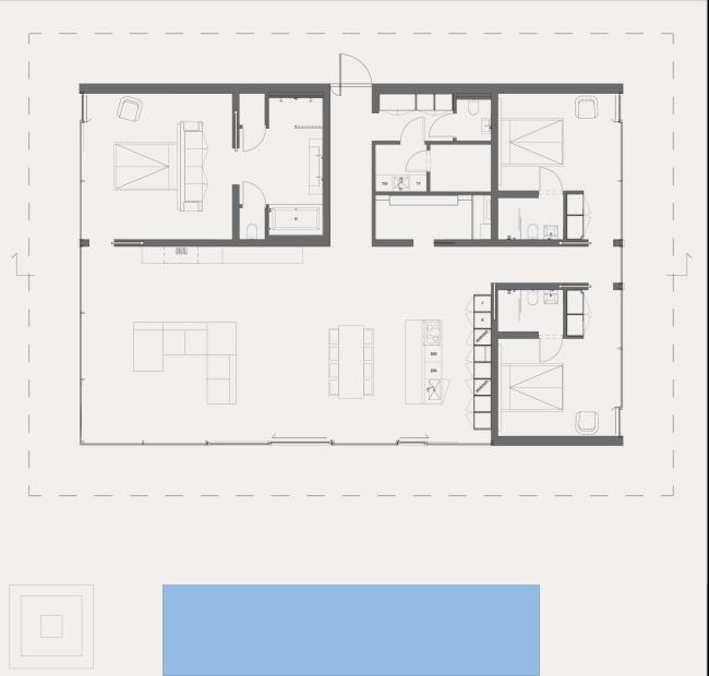 Villa John Robert Nilsson Architekten Grundriss Plan