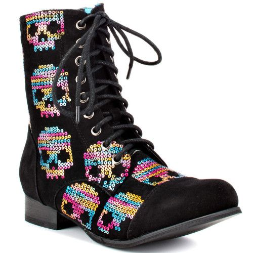 30b965c12a0 Iron Fist Sugar Hiccup CBat Boot | Do Want | Shoes, Shoe boots ...