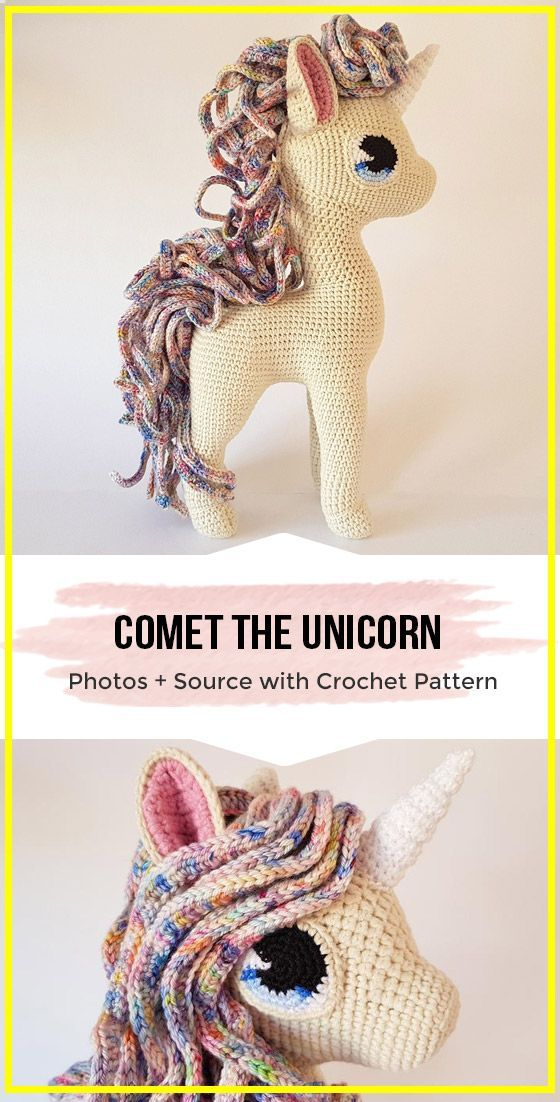 crochet deluxe amigurumi horse pattern #horsepattern