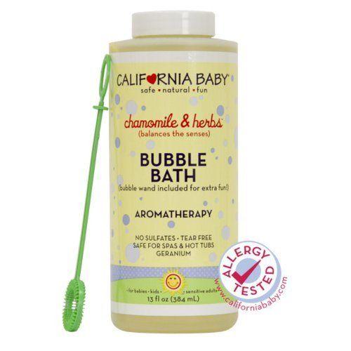 California Baby Chamomile Herbs Bubble Bath 13 Oz Quantity Of 2 By California Baby 31 52 Gera Baby Bubble Bath Baby Bath Tub Newborn California Baby