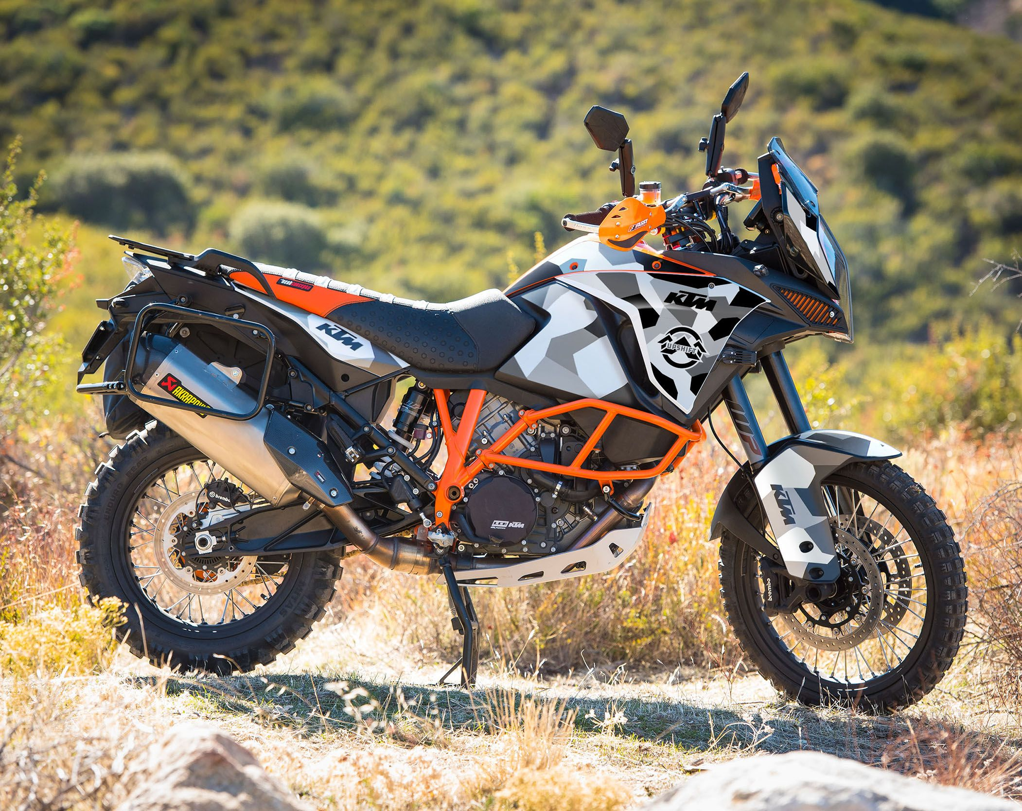 Upshiftktm 1290 Super Adventure R S Geo Camo Graphics Kit Super Adventure Ktm Ktm Adventure