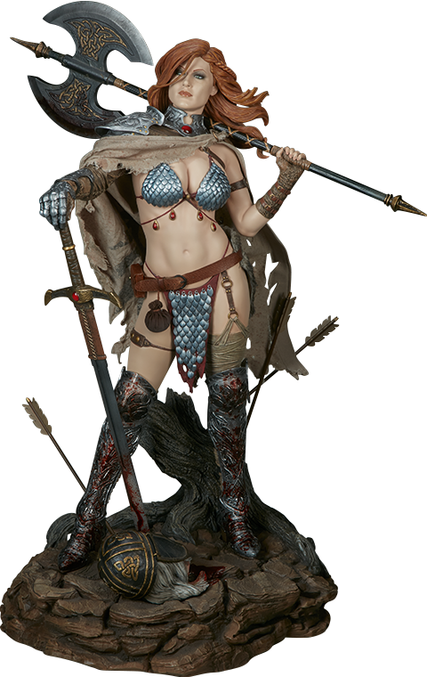 Red Sonja Red Sonja Premium Format(TM) Figure by Sideshow Co