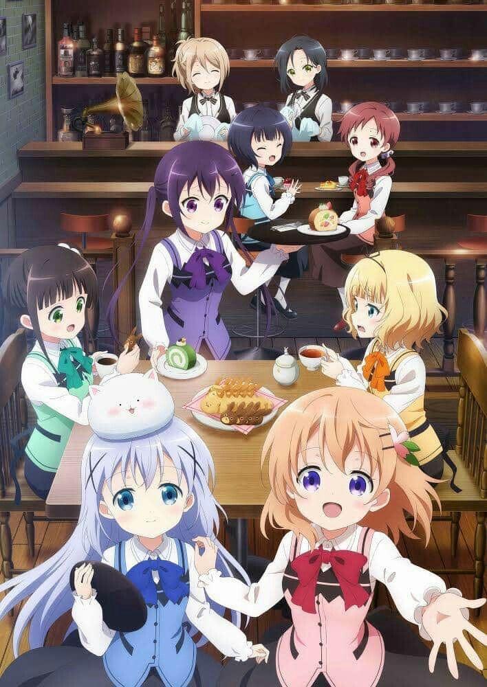 Pin by 笠 on 請問您今天要來點兔子嗎? in 2020 Anime, Rabbit season