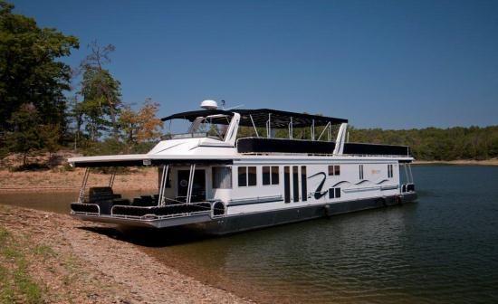 Arkansas House Boat Vacation Rental Getaway On Lake Ouachita Near