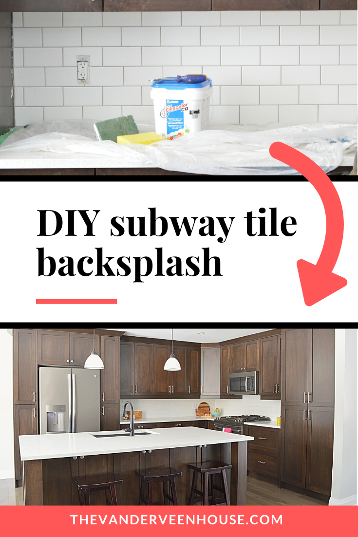 How To Install A Subway Tile Kitchen Backsplash Subway Tile Backsplash Backsplash Diy Kitchen Backsplash