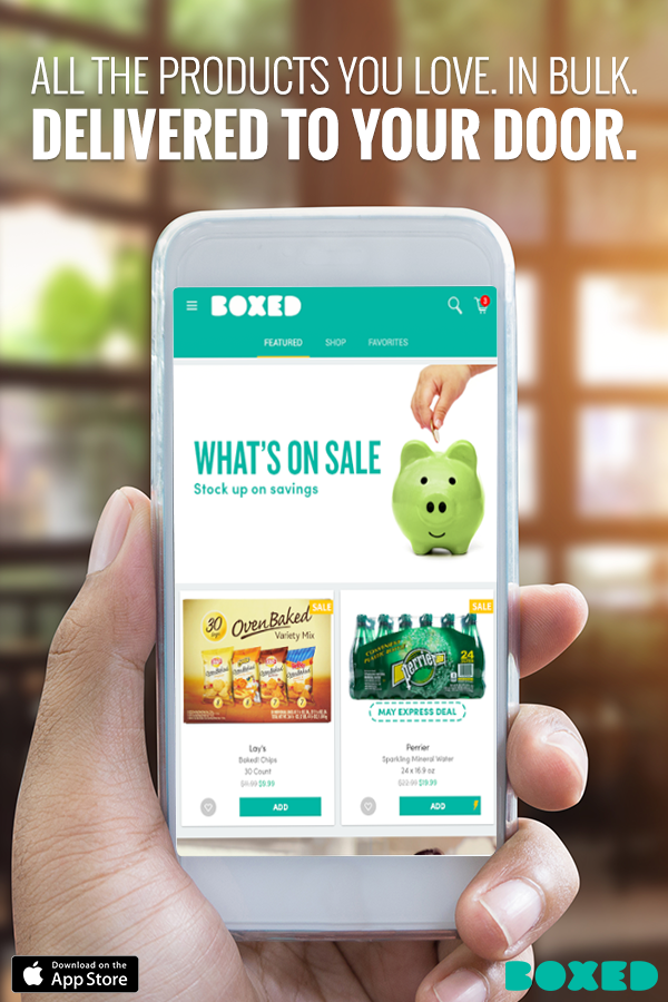 Download The Free Boxed App For Iphone Today And Shop All The Products You Love Anytime Anywhere Boxed Allows You T Budgeting Money Money Saver Budget Saving