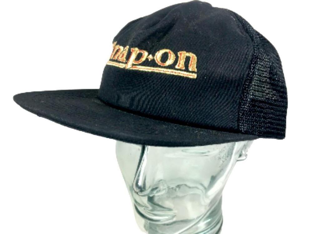 ac3a7733826 Baseball Trucker Snap-On Tools 1939 Logo Snap Back Vtg Cap Mesh K-Products  USA  KProductsSnapOn  TruckerHat