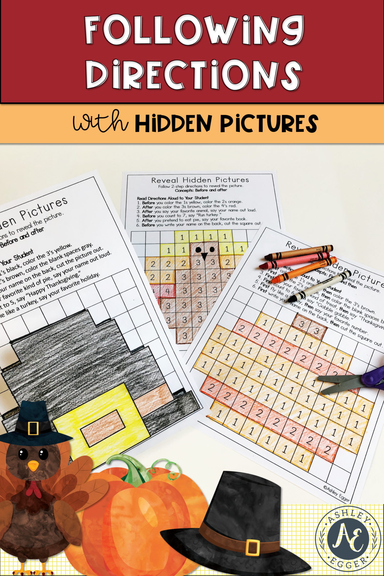 Thanksgiving Hidden Pictures Targeting Following