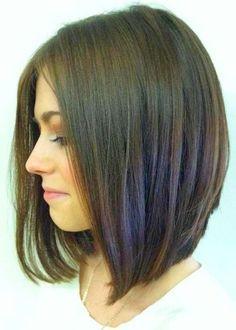 Long Bob Haircuts Back View Mittlere Langen Hair Styles Hair