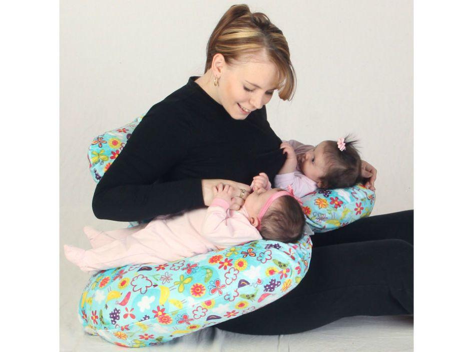 newborn twins twin nursing pillow