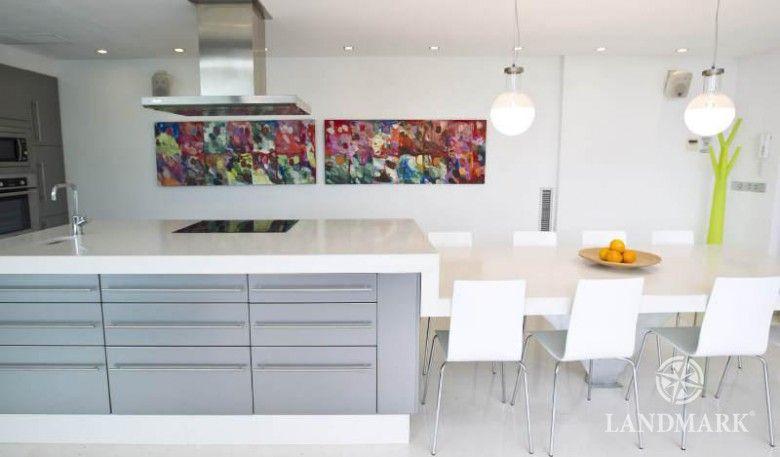 Bildergebnis Für Moderne Kochinsel Mit Tisch