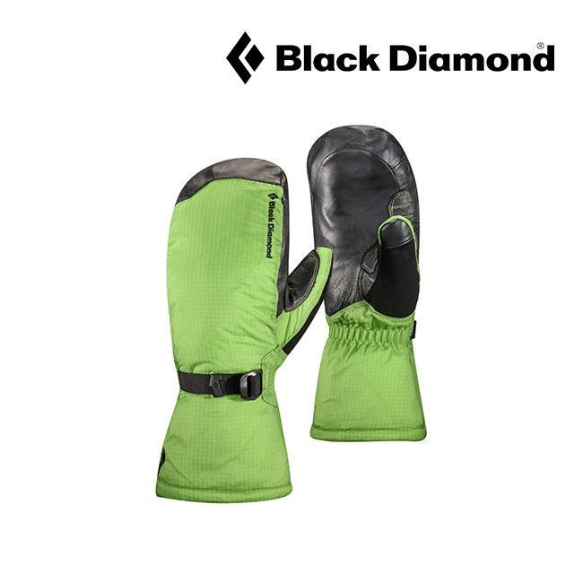 Black Diamond Super Light Mitts - Lime Green