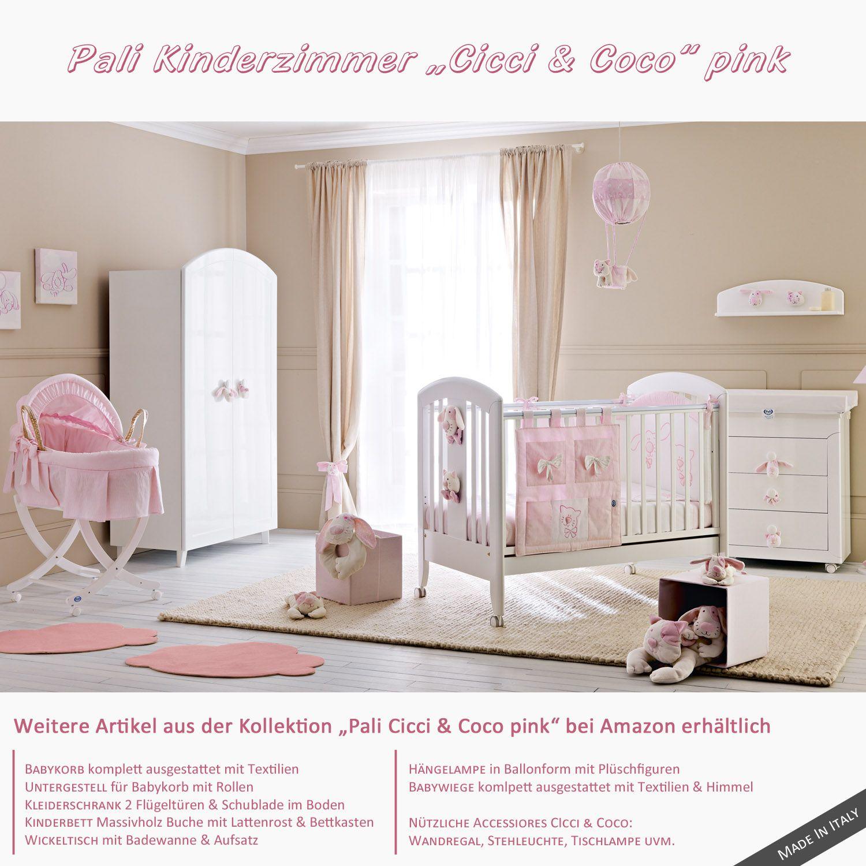 Kinderzimmer für Mädchen in Pink - Kindermöbel von Pali Cicci & Coco ...