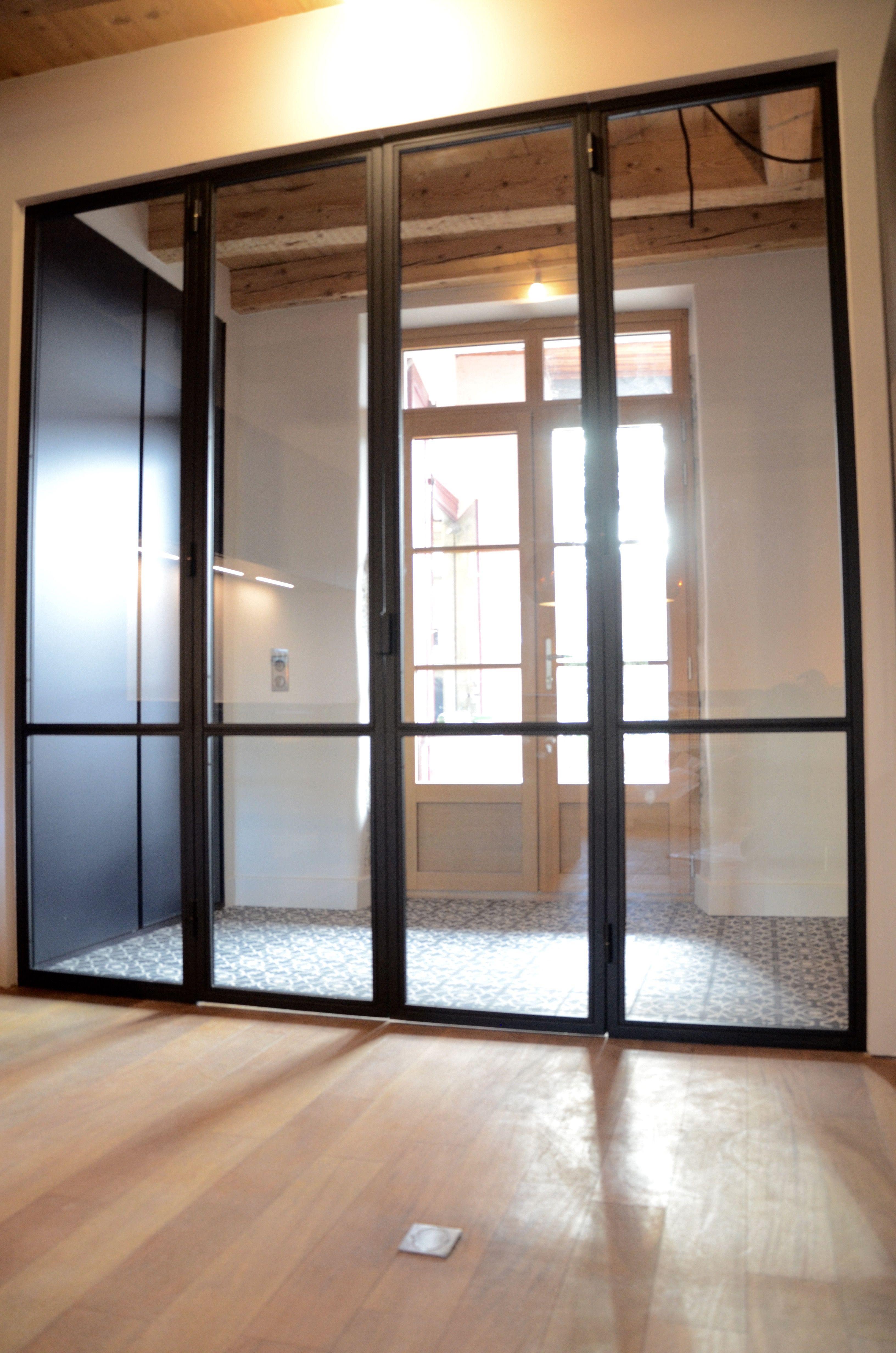 Sas D Entrée Interieur pin op verrière sur entrée et cuisine