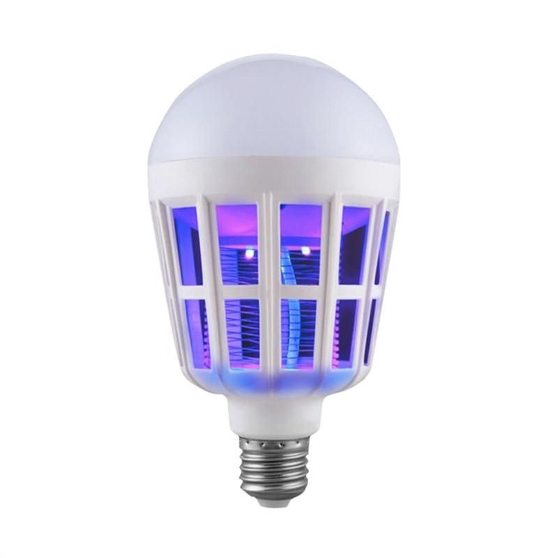 Insects Bug Zapper Light Bulb Mosquito Repellent LED Light For Home Bedroom  Living Room Backyard Patio
