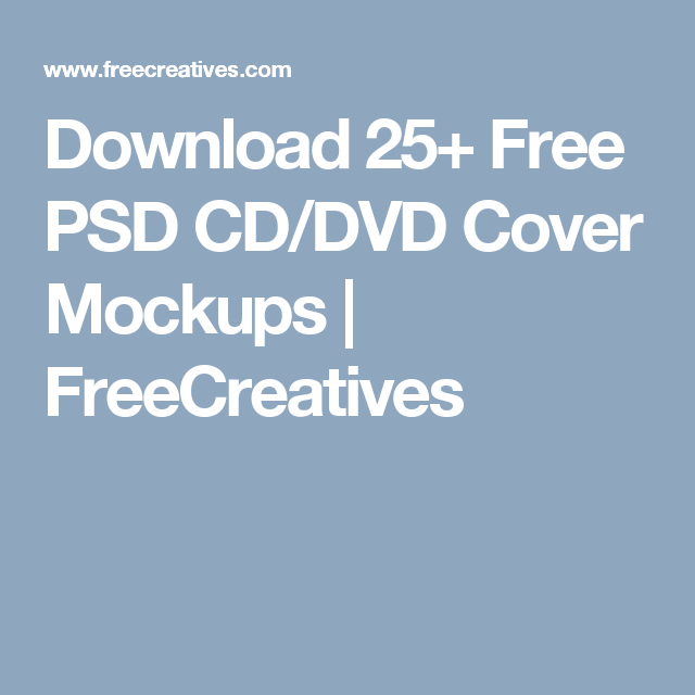 download 25 free psd cd dvd cover mockups freecreatives my art